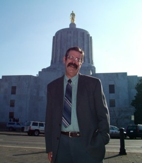 Greg Wasson At Oregon State Capitol Building